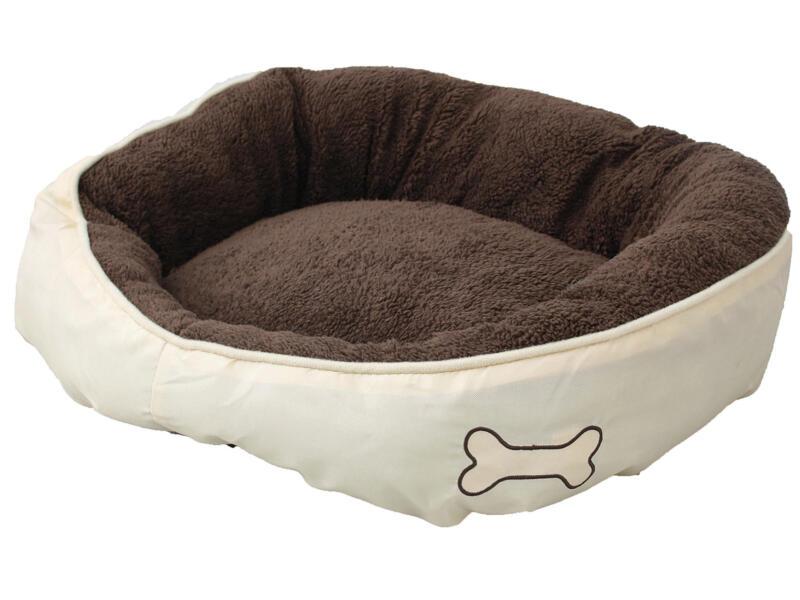 Panier pour chien Chipz 52x46x18 cm brun