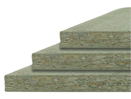 Panneau aggloméré hydrofuge 244x122 cm 18mm