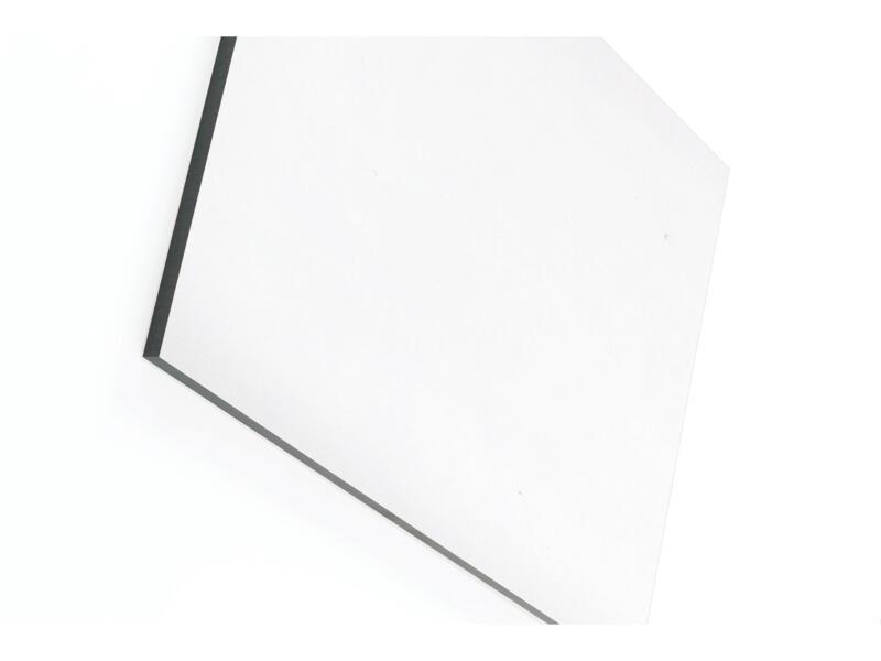 Panneau compact 244x122 cm 6mm blanc