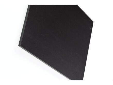 Panneau compact 305x130 cm 6mm noir