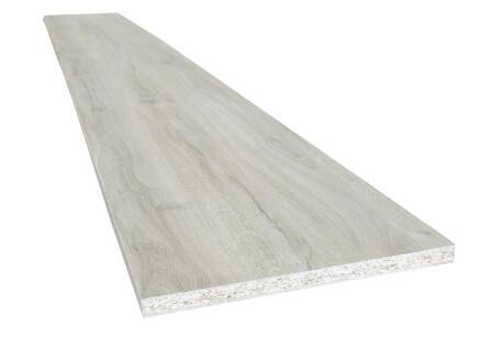 Panneau de meuble 250x30cm 18mm chêne gris