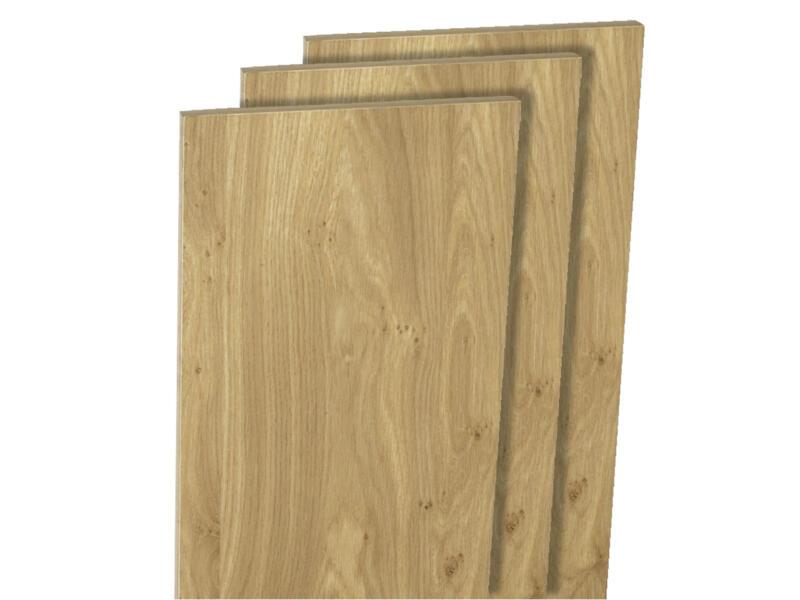 Panneau de meuble 250x50 cm chêne français