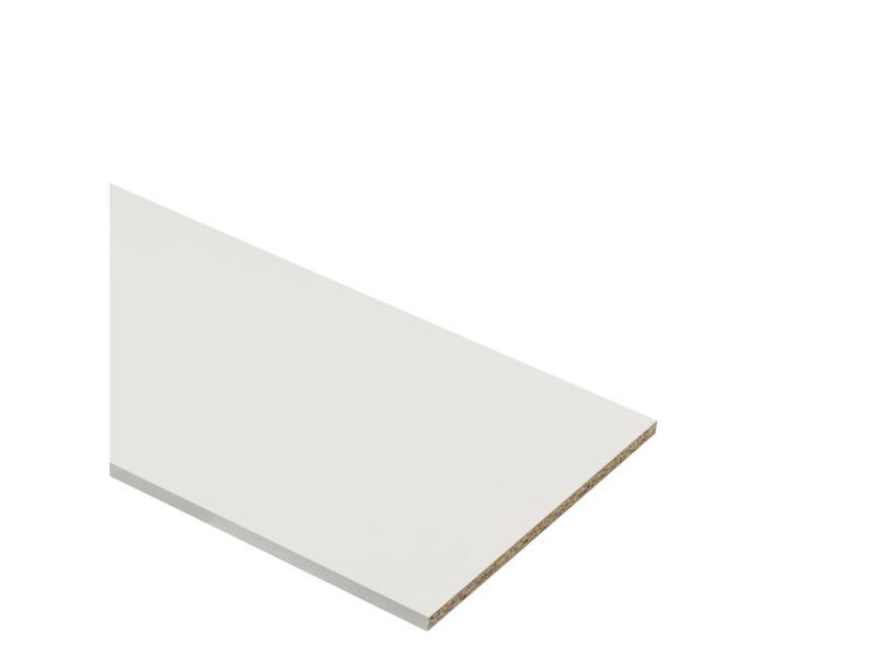 Panneau de meuble 305x20 cm 18mm blanc