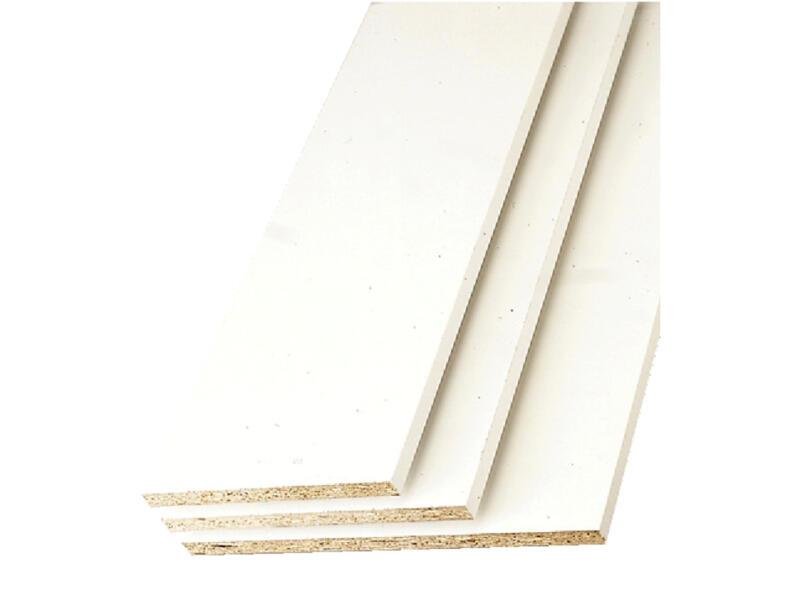 Panneau de meuble blanc 250x80 cm épaisseur 18mm