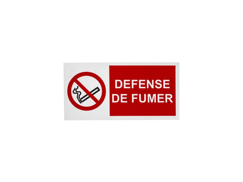 Panneau defense de fumer 15x30 cm