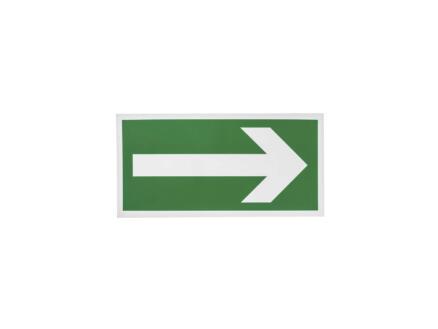 Panneau flèche directionelle 90° 15x30 cm