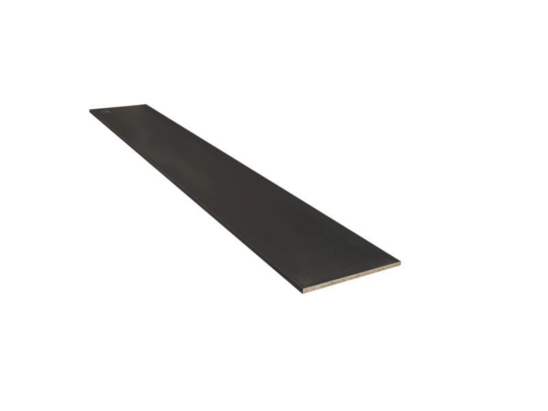 Panneau meuble 250x40 cm noir