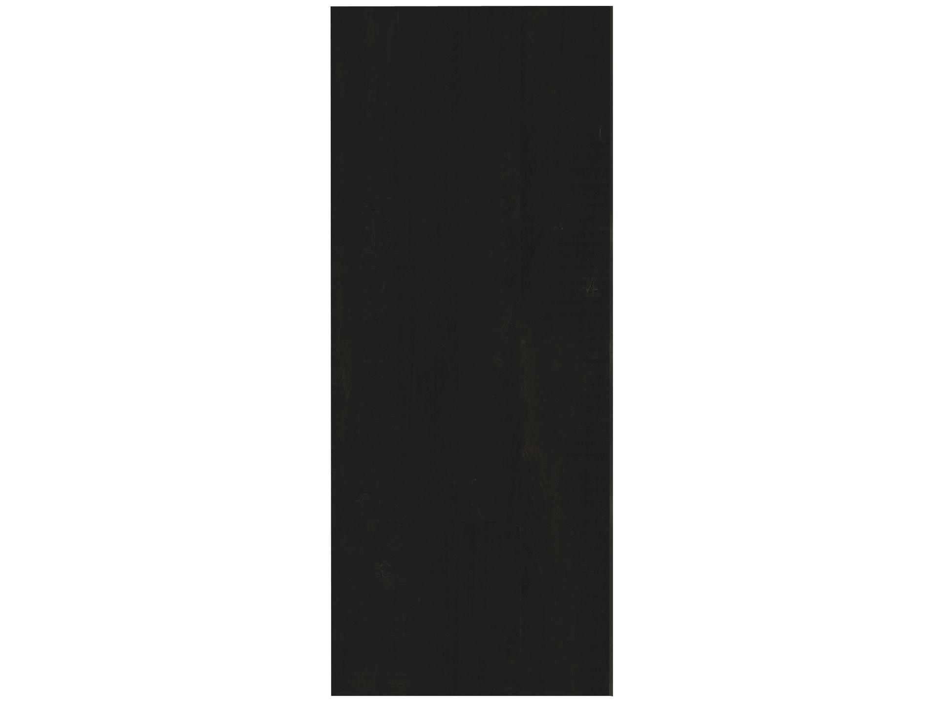 Panneau Melamine Noir Mat panneau meuble 250x60 cm noir