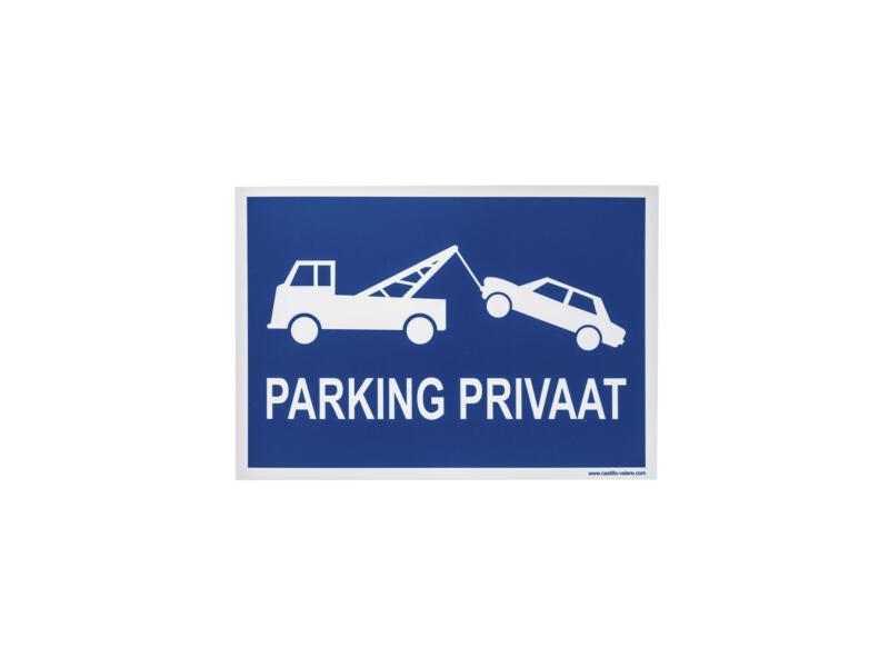 Panneau parking privaat