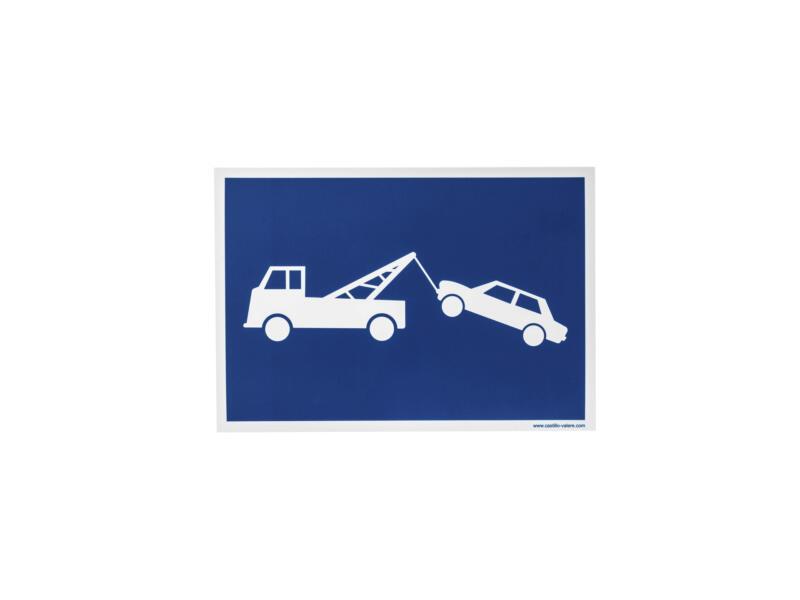 Panneau stationnement gênant 33x23 cm