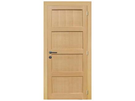 Solid Pannello Oak binnendeur 201x73 cm eik lichtbruin