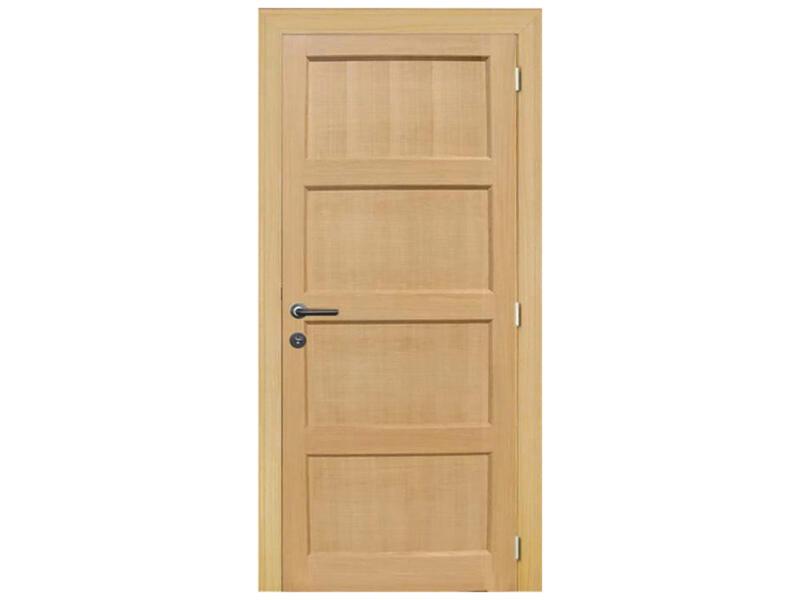 Solid Pannello Oak porte intérieure 201x78 cm chêne brun clair