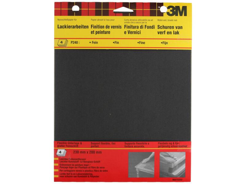 3M Papier abrasif G240 303x231 mm