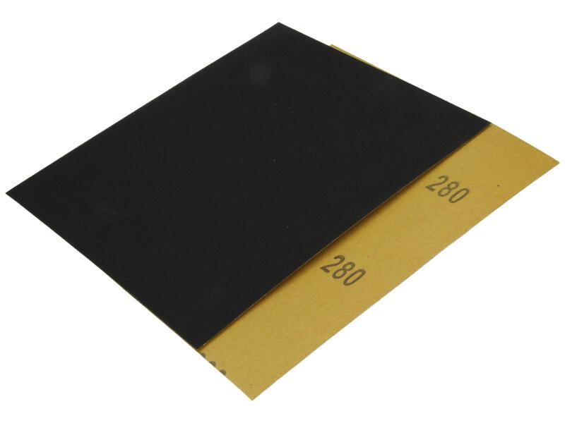 Sam Papier abrasif waterproof G280 moyen (5 pièces)