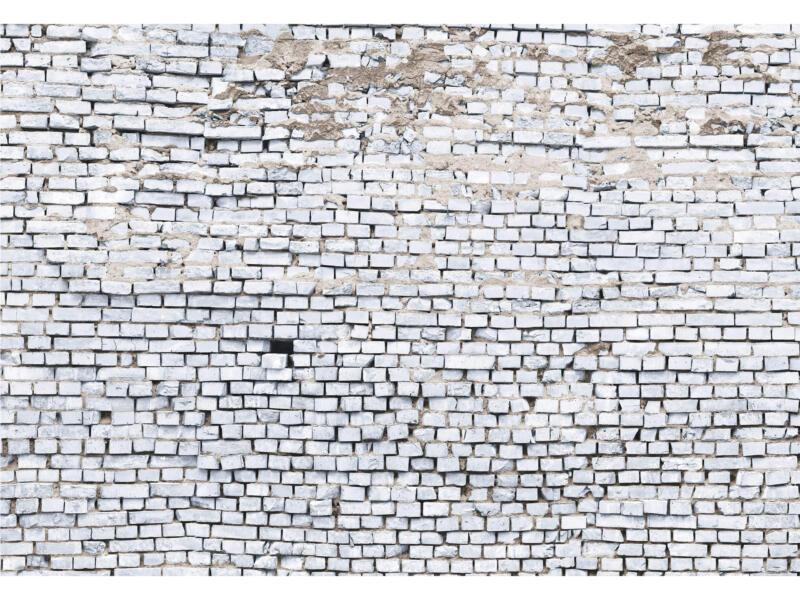 Papier peint 8 bandes White Brick