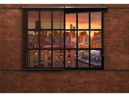 Papier peint photo 8 bandes Brookl Brick