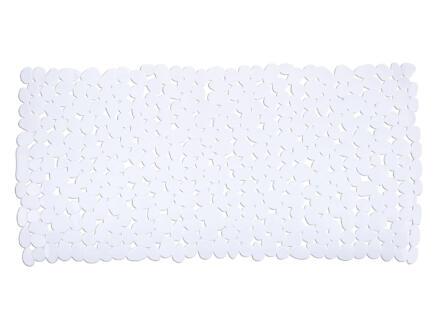 Wenko Paradise tapis de bain antidérapant 71x36 cm blanc