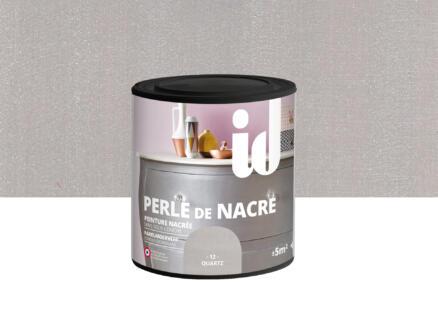 Parelmoer meubelverf hout en MDF 0,5l quartz