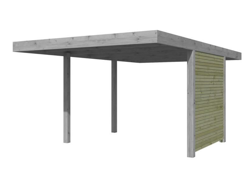 Gardenas Paroi latérale 186cm pour carport QB