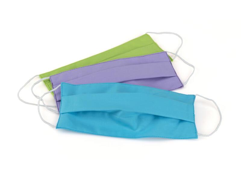 Busters Pastel masque de protection réutilisable 3 piéces