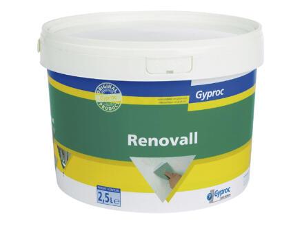 Gyproc Pâte de remplissage RenovAll Gyproc 2,5l