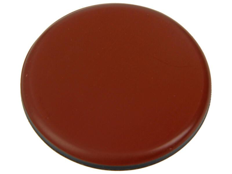 Sam Patin glissant 65mm brun 4 pièces