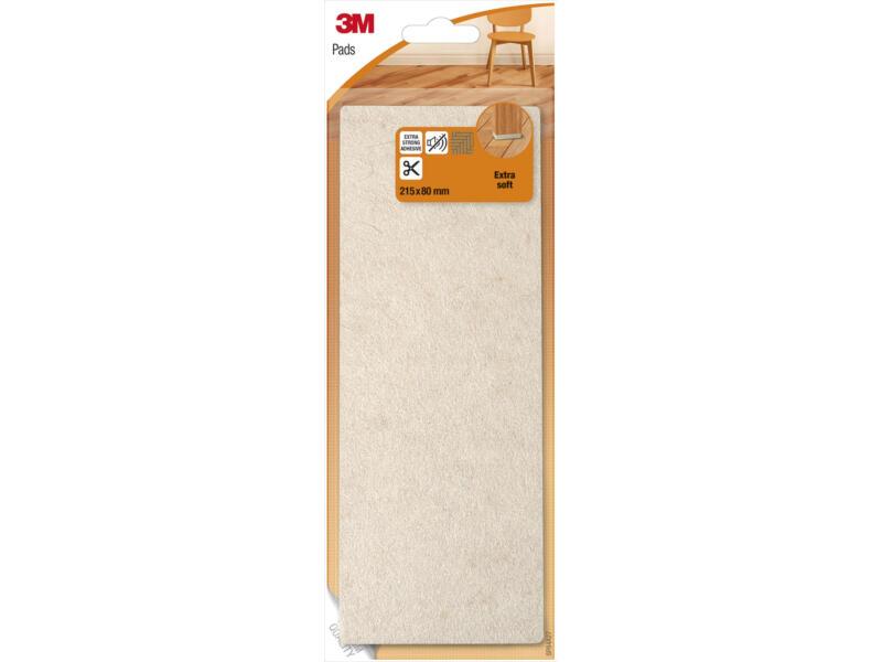 3M Patin glissant extra doux laine 215x80 mm