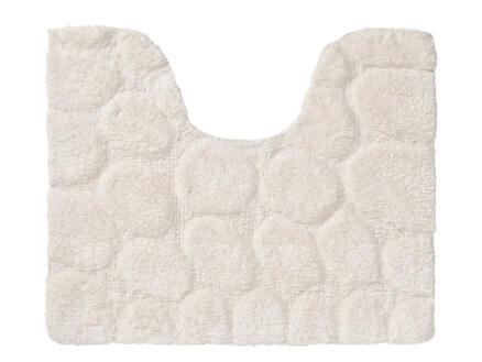 Sealskin Pebbles tapis WC 50x60 cm ivoire