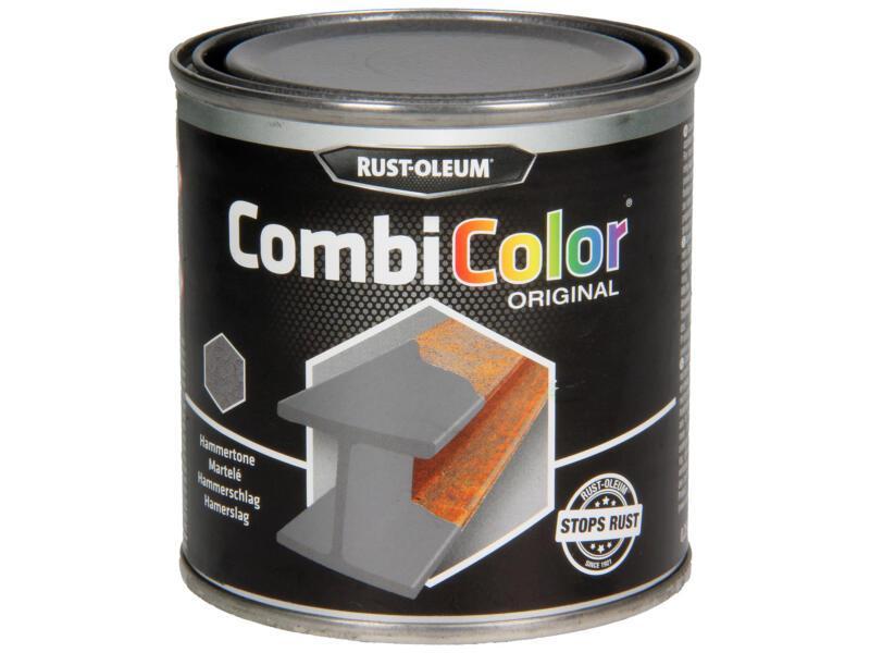 Rust-oleum Peinture métal laque martélé 0,25l gris fonce