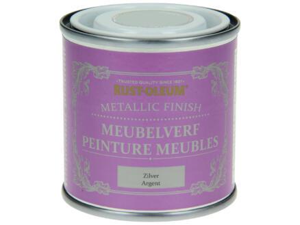 Rust-oleum Peinture meubles 0,125l argent métallique