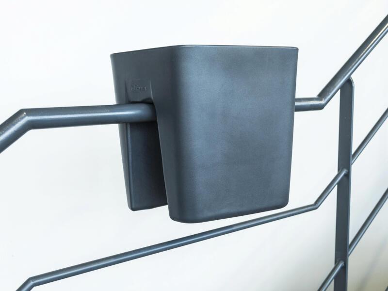 Pendulum Square bloembak 42x37 cm antraciet