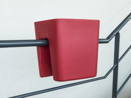Pendulum Square bloembak 42x37 cm rood