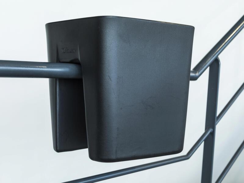 Pendulum Square bloembak 42x37 cm zwart