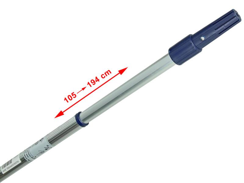 Perche téléscopique rouleau à peinture 100-200 cm aluminium