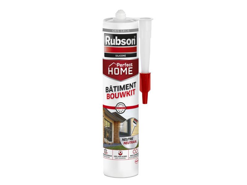 Rubson Perfect Home siliconenkit bouw 280ml grijs
