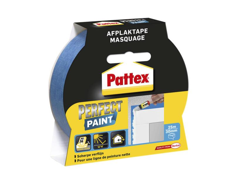 Pattex Perfect Paint ruban de masquage 25m x 30mm bleu