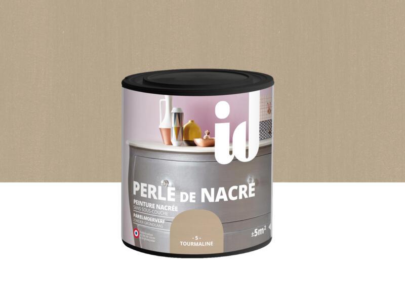 Perle de nacre peinture meubles bois et MDF 0,5l tourmaline