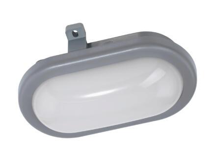 Eglo Pescolla LED wandlamp ovaal 5,5W grijs