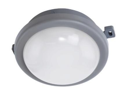Eglo Pescolla LED wandlamp rond 5,5W grijs