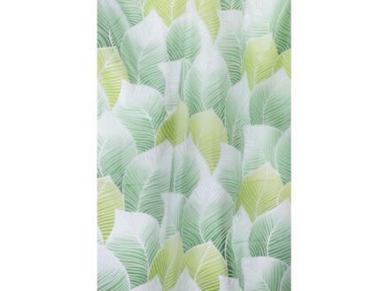 Differnz Peva Greens douchegordijn 180x200 cm groen