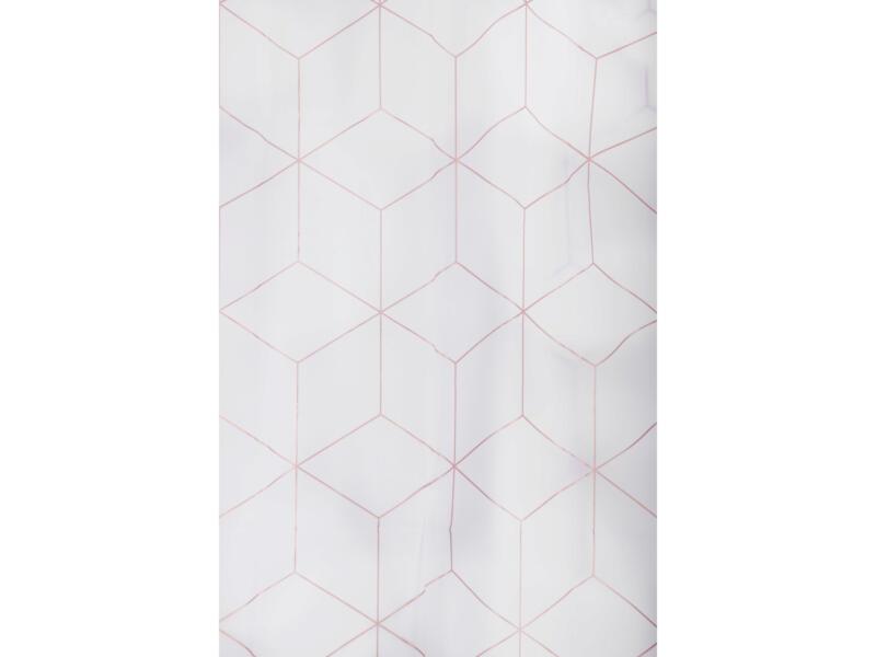 Differnz Peva Pastillo rideau de douche 180x200 cm blanc