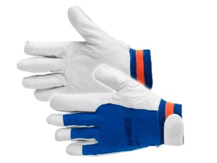 Busters Pick Up gants de travail XL cuir bleu