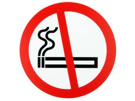 Pictogram verboden te roken 18cm