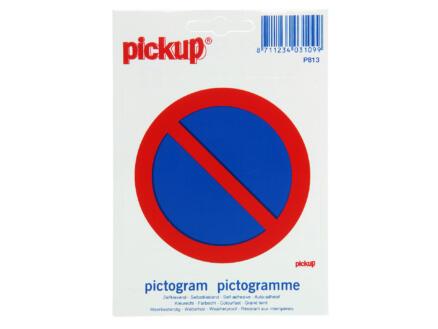 Pictogramme autocollant stationnement interdit 10cm