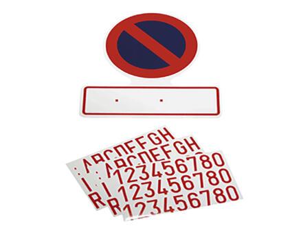 Carpoint Pictogramme autocollant stationnement interdit