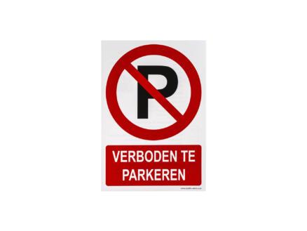 Pictogramme autocollant verboden te parkeren 23x33 cm
