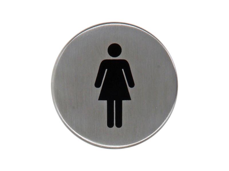 Yale Pictogramme femme 5cm inox