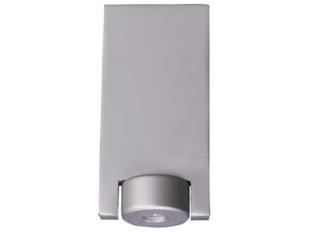 Pied de meuble modèle L 50x80mm 10cm aluminium