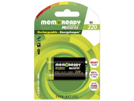 Memorex Pile rechargeable 6F22 (9V) 220mAh