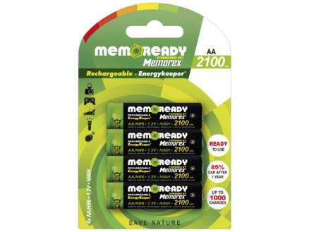 Memorex Pile rechargeable AA 2100mAh 4 piéces